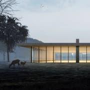 """Über das Projekt """"Out in the green"""" des Winterthurer Architekturbüros Graf Biscioni stimmen die Eschliker 23. September ab. (Bild: ZVG)"""