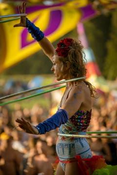Reni Hardmeier bringt das Publikum am Phoenix Festival im August zum Staunen. (Bild: Giovanni Baroni/mysticalpics.ch)