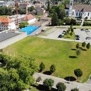 Die Zukunft der Festwiese im Kreuzlinger Zentrum ist stets Diskussionsthema. (Bild: Reto Martin)
