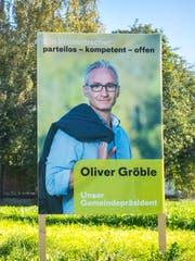 Der Parteilose Oliver Gröble machte im ersten Wahlgang 27 Stimmen weniger als Norbert Näf (CVP).