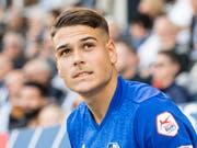 Filip Ugrinic hat beim FC Luzern vorzeitig verlängert. (Bild: KEYSTONE/Urs Flueeler)