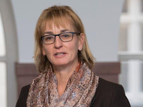 Yvonne Hunkeler (51), CVP-Kantonsrätin und Vizepräsidentin der Partei aus Grosswangen. (Bild: Patrick Straub/Keystone (10. November 2017))