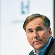 Jan Jenisch (52), CEO von LafargeHolcim, hat den Konzern umgebaut. (Bild: Walter Bieri/Keystone, Zürich, 2. März 2018)