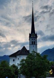 Die Kirche von Alpnach. (Bild: Markus von Rotz, Alpnach, 7. Juni 2018)