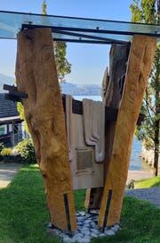 So präsentierte sich die SKulptur der Marien-Linde bisher. (Bild: Markus von Rotz, Kehrsiten, 13. Oktober 2018)