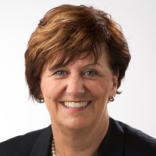 Luzerner Nationalrätin Ida Glanzmann, seit 2006, CVP, wiedergewählt