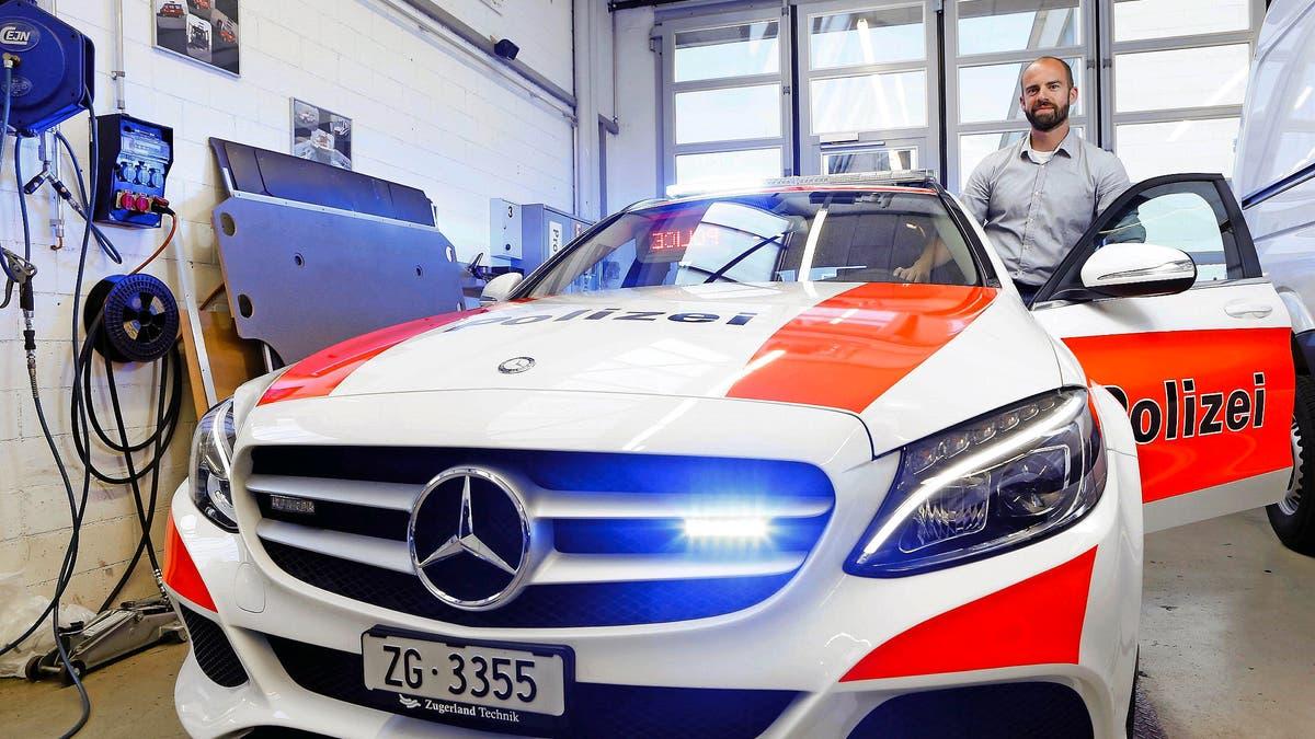 Zug Polizei
