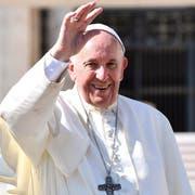 Papst Franziskus bei seiner wöchentlichen Generalaudienz im Vatikan. (Bild: Ettore Ferrari, 10. Oktober 2018)