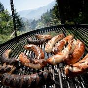 Ab Dienstag ist auch das Grillieren in Thurgauer Wäldern wieder erlaubt. (Bild: Urs Jaudas)