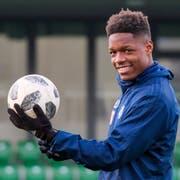 Kommt beim FC Luzern in Fahrt: Tsiy Ndenge. (Bild: Martin Meienberger/Freshfocus, Kriens, 4. Januar 2019)