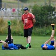 Konditionstrainer Christian Schmidt. (Martin Meienberger/freshfocus)