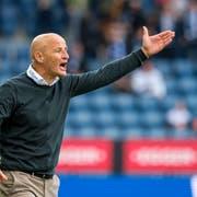 St. Gallens Trainer Peter Zeidler. (Bild: Martin Meienberger/Freshfocus)