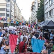 Blick auf das Strassenfest von Leuchter IT Solutions. (Bild: Roman Beer)