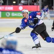 EVZ-Verteidiger Thomas Thiry im Champions-Hockey-League-Spiel gegen Rungsted. (Bild: Daniela Frutiger/freshfocus (Zug, 29. August 2019))