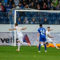 Der Ex-St.Galler Roy Gelmi schiesst den FC Thun in den Cupfi ...