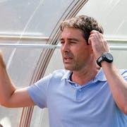 3:1-Sieg gegen Winterthur: Trainer René Weiler während seinem ersten Spiel mit dem FC Luzern. (Bild: Martin Meienberger/freshfocus (Buttisholz, 23. Juni 2018))