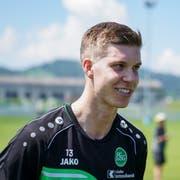 Cedric Itten hat bisher in 27 Spielen für den FC St.Gallen 16 Tore erzielt. (Bild: Claudio Thoma/Freshfocus)