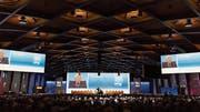 Eine Generalversammlung des Nahrungsmittelkonzerns Nestlé. Bild: Gaëtan Bally/Keystone (Lausanne, 7. April 2016)