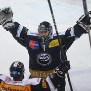 Schafft es Goalie Benjamin Conz mit Ambri in die Playoffs? (Bild: KEYSTONE/Ti-Press/Alessandro Crinari)