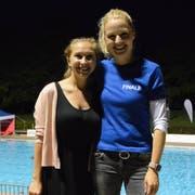 Nadine Heinrich (27) und Nadine Redder (35). (Bild: Viola Stäheli)