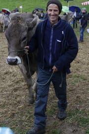 Mit einem Rind aus dem eigenen Stall im Ring zu stehen, ist der Stolz jedes Besitzers. (Bild: Fränzi Göggel)