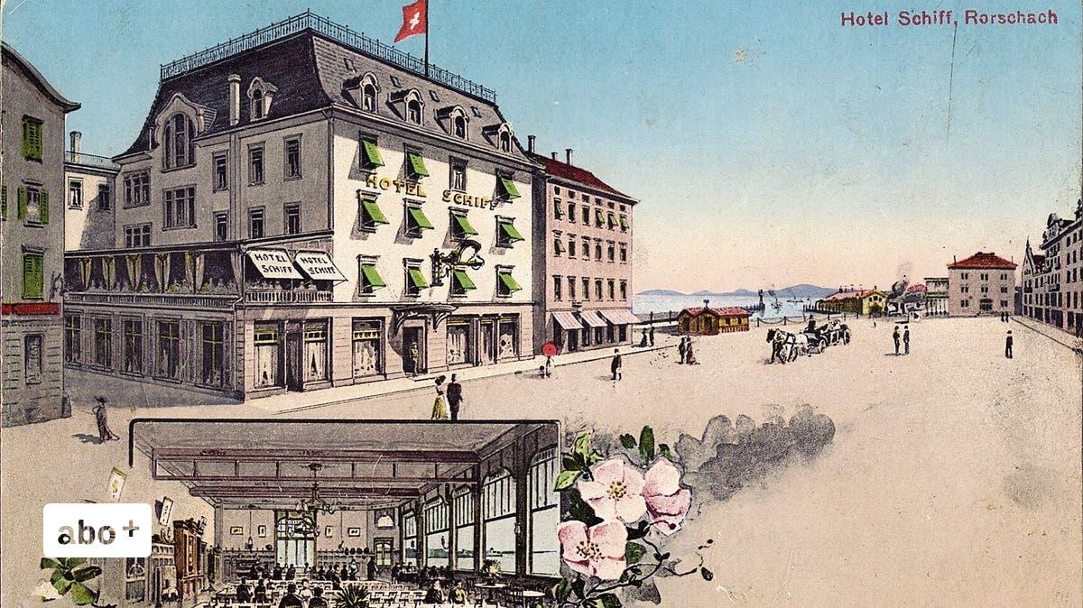 Nazis im einstigen Nobelhotel: Im «Schiff» trafen sich Rorschacher Hitler-Anhänger für Versammlungen   St.Galler Tagblatt