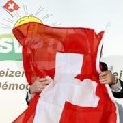 Bei den kantonalen Wahlen verliert die SVP landesweit Sitze. (Bild: KEYSTONE/Sigi Tischler)