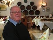 Kurt Köberlin im Gasthaus Wallgut. (Bild: Urs Brüschweiler)
