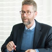 Thomas Dufner, CVP, Jurist und Gemeinderat. (Bild: Thi My Lien Nguyen)