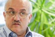 Ruedi Zbinden, Präsident der SVP Thurgau. (Bild: Donato Caspari)