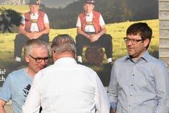 Verwaltungsrat und Planer Martin Rusch (dritter von links).