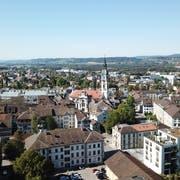 Das Mitsommerfest fokussiert aufs Areal rund um die Kantonsbibliothek (im Vordergrund). (Bild: PD)