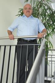 Ruedi Zbinden im Gemeindehaus Bussnang. (Bild: Sabrina Bächi)
