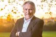 Robert Schmid, Präsident Naturschutzverein Stadt St.Gallen und Umgebung. (Bild: Urs Bucher - 26. Oktober 2017)