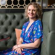 Tiffany Johnson hat ihr Lachen wiedergefunden. Am 25. Juni traf sie die Redaktion von CH Media in einem Hotel in Zürich. (Bild: Sandra Ardizzone)