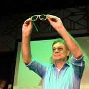 Grüne Brille: Österreichs Grünen-Chef Werner Kogler blickt auf ein Glanzresultat bei den Wahlen. (Bild: APA/Keystone)