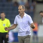 FCL-Trainer Thomas Häberli: «Wir leben in einer Leistungskultur.» (Bild: Urs Flüeler/Keystone (Luzern, 25. Juli 2019))