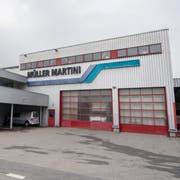 Das Werk von Müller Martini in Stans. (Bild: Urs Flüeler/Keystone, Stans, 11. April 2019)