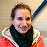 Kerstin Ruch, Präsidentin des Curling Club Uzwil. Die 27-Jährige ist die erste Frau an der Spitze des fast 60-jährigen Vereins.