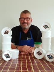 Die Lenggi-Original-Sauce passe einfach zu jedem Gericht. Das hat Peter Lenggenhager beim Tüftlen herausgefunden. (Bild: Angelina Donati)