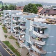 Die Wohnüberbauung an der Zwyssigstrasse im Sömmerli. (Bild: Benjamin Manser - 1. Juni 2016)