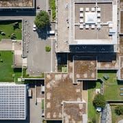 Verschachtelt: der Campus der Universität St.Gallen. (Bild: Benjamin Manser)