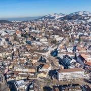 Wo gibt es Cluster- und Satelliten-Wohnungen? Das will die Stadt im Rahmen der Wohnraumstrategie herausfinden. (Bild: Urs Bucher, 13. Februar 2019)