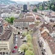 Der Marktplatz ist nicht nur fürs Gewerbe ein langjähriges Sorgenkind.Bild: Benjamin Manser/Michel Canonica