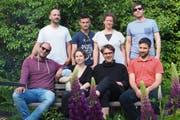 Das Kernteam des Kultlings mit Vereinspräsident Valentin Huber ganz links im weissen T-Shirt. (Bild: PD)