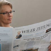 Digital statt analog: Die Stadt Wil verabschiedet sich Ende Mai von der «Wiler Zeitung» als amtliches Publikationsorgan. (Bild: Hans Suter)