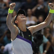 In New York nicht zu stoppen: Belinda Bencic (Bild: AP Photo/Frank Franklin II)