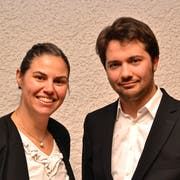 Heidi Preisig und Christoph Mauerhofer spielen leidenschaftlich gerne Orgel. (Bild: Peter Jenni)