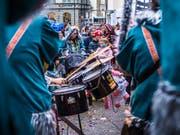 Spätestens am Wochenende hallt Guggenmusik durch Rorschachs Gassen. (Bild: Jil Lohse)