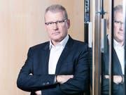 Der Zuger Finanzdirektor Heinz Tännler. Bild: Stefan Kaiser (Zug, 17. März 2017)